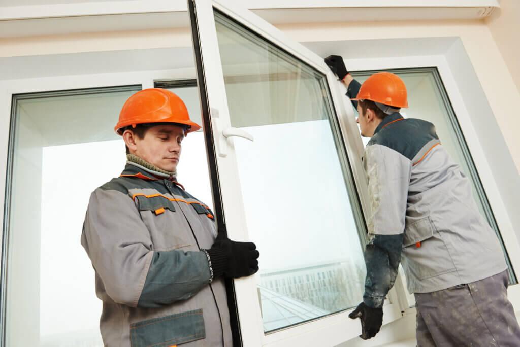 Montering af vinduer