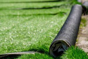 Lægning af rullegræs pris